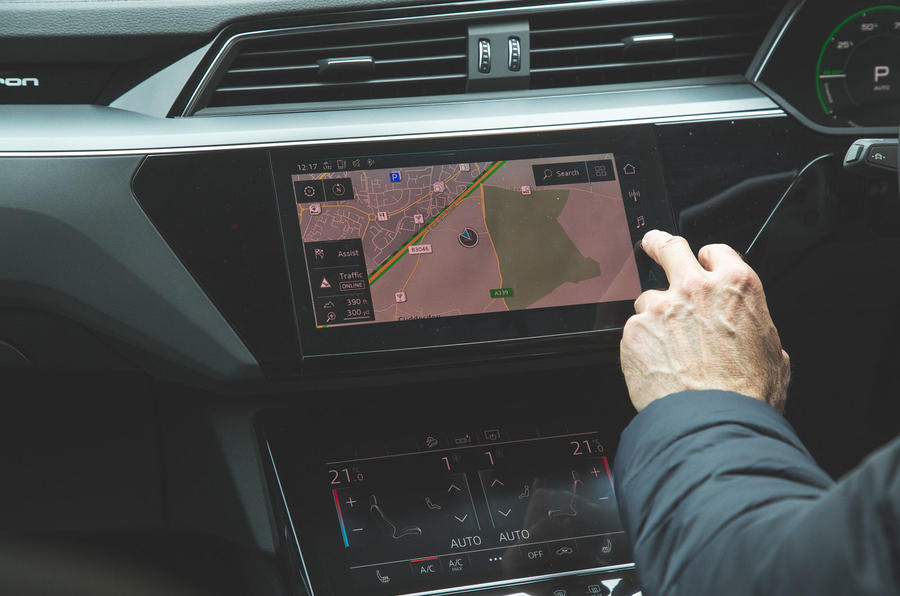 Audi E-tron 2019 long-term review - infotainment