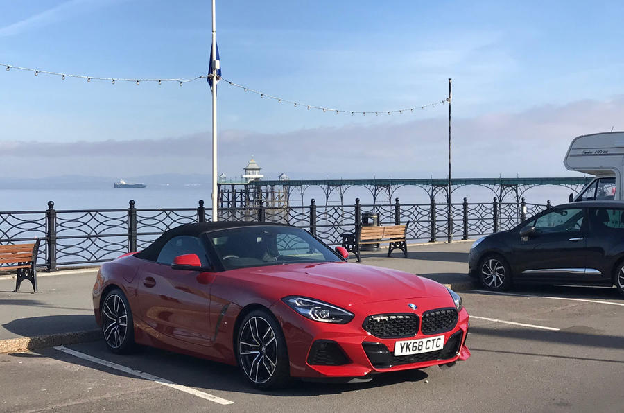 BMW Z4 2019 long-term review - pier