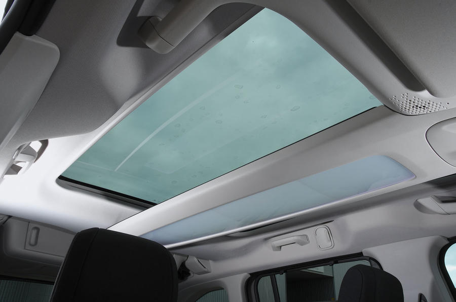 Citroen Berlingo 2019 long-term review - sunroof