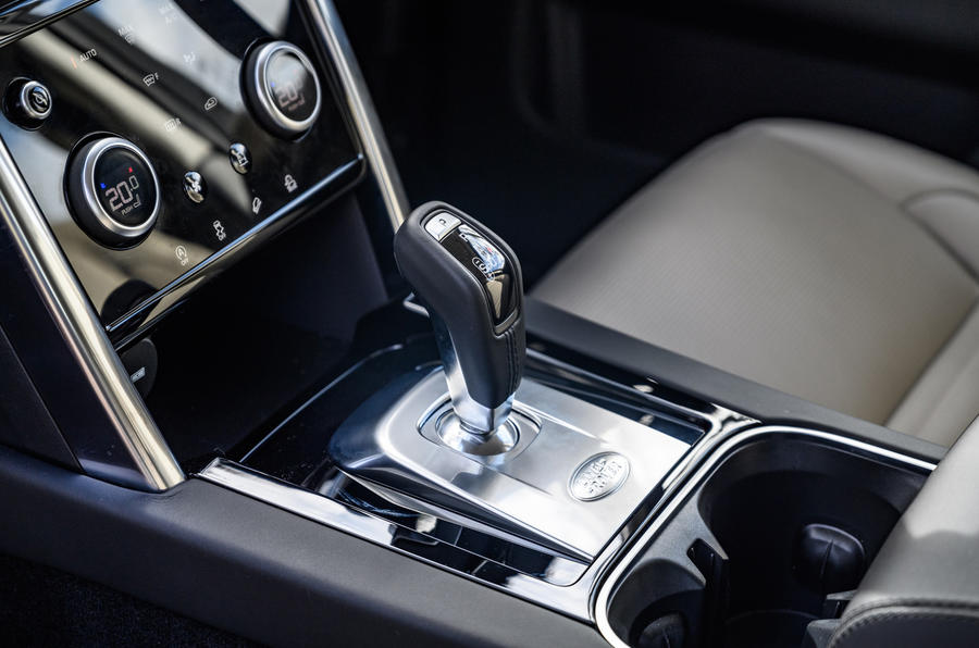 Land Rover Discovery Sport 2020 long-term review - gearstick