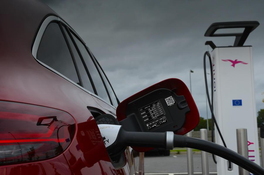 Mercedes-Benz EQC 2020 long-term review - charging