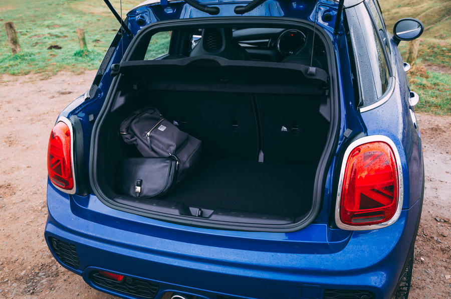 Mini 5-door Cooper S 2019 long-term review - boot