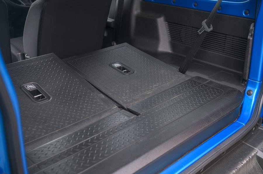 Suzuki Jimny 2019 long-term review - folding seats