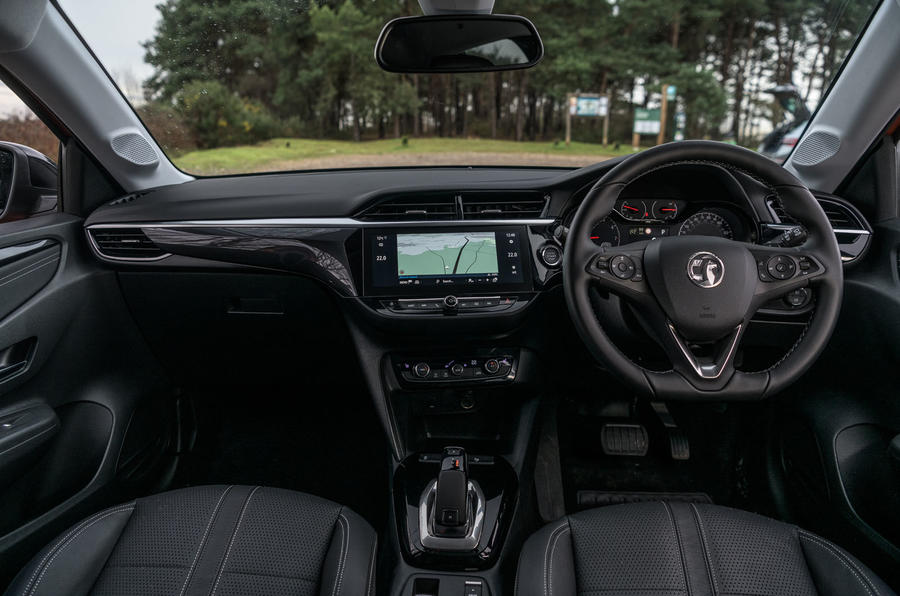 Vauxhall Corsa 2020 long-term review - dashboard