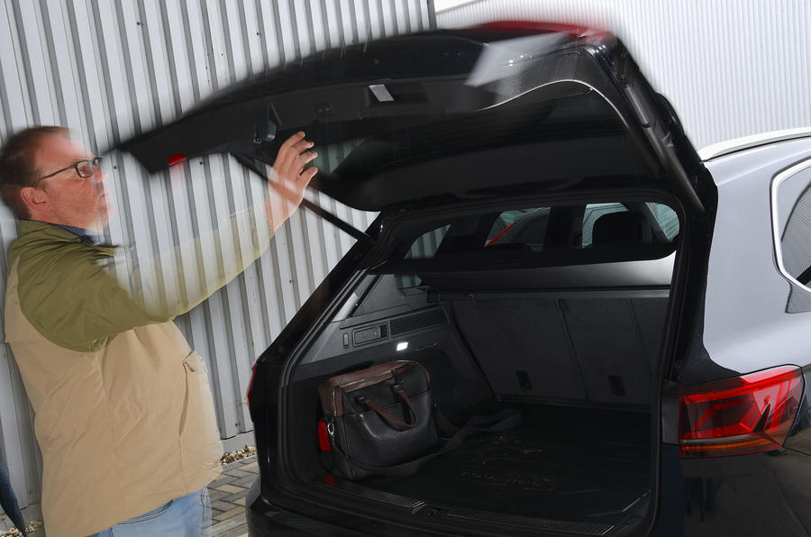 Volkswagen Touareg 2019 long-term review - boot