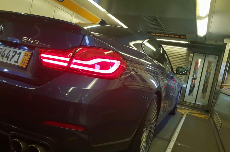 Alpina B4 S 2019 long-term review - Eurotunnel