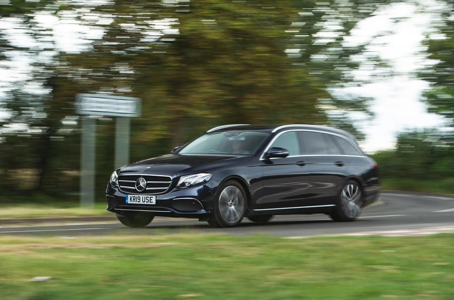 Mercedes E300de 2019 long-term review - on the road front