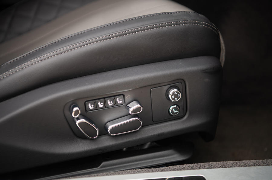 Bentley Continental GT 2019 long-term review - seat controls