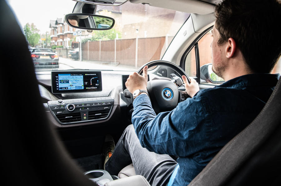 BMW i3S 2019 long-term review - Tom Morgan driving