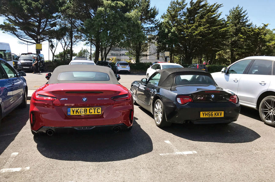 BMW Z4 2019 long-term review - Z meets Z - rear