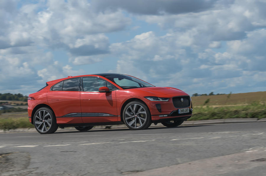 Jaguar I-Pace 2019 long-term test review - on the road front