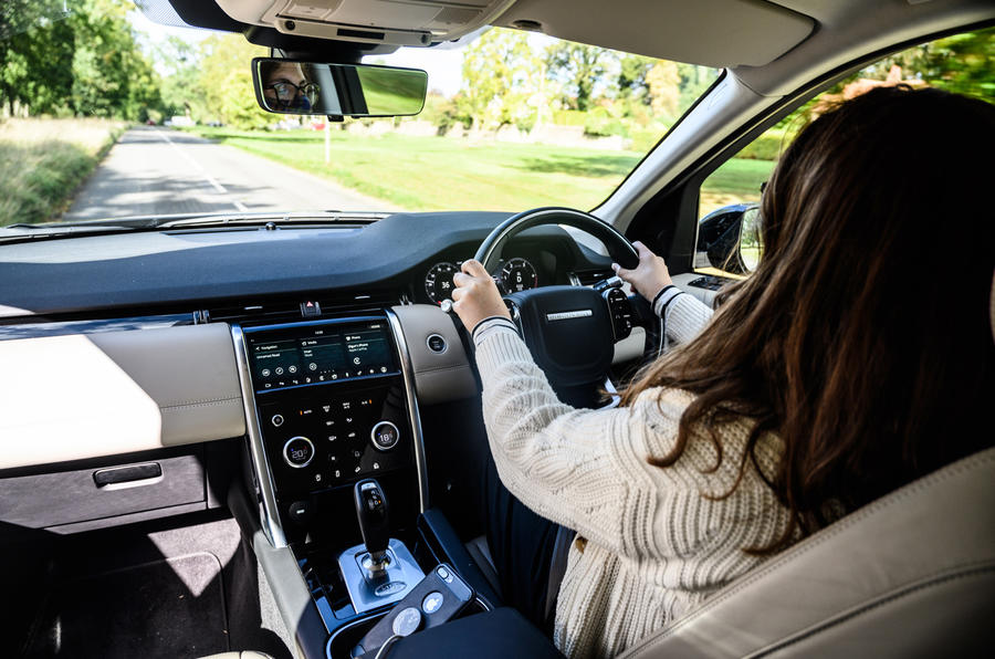 Land Rover Discovery Sport 2020 long-term review - Rachel Burgess driving