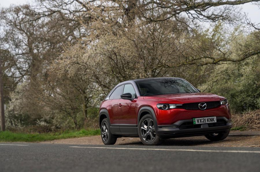 15 Mazda MX 30 2021 LT en statique
