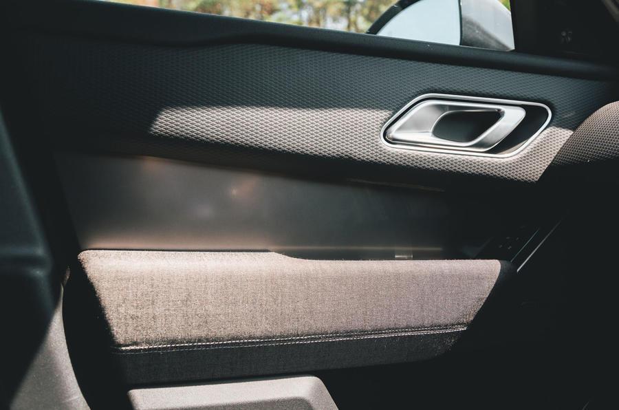 Range Rover Velar 2019 long-term review - door cards