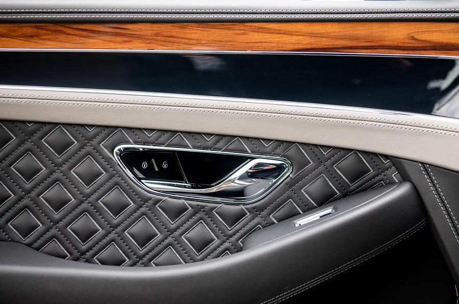 Bentley Continental GT 2019 long-term review - door cards