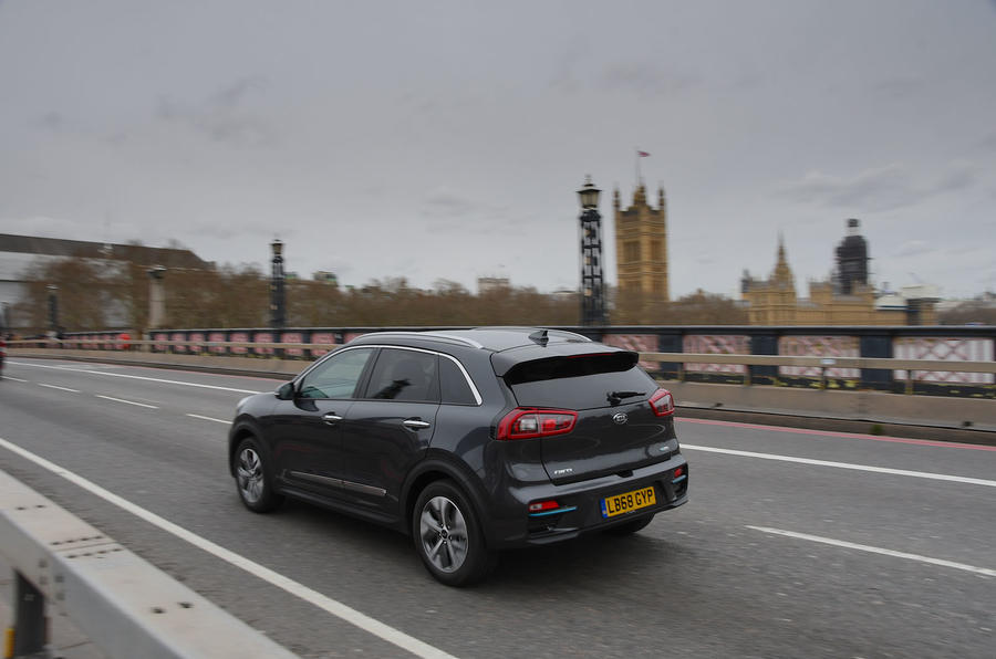 Kia e-Niro 2019 long-term review - Westminster rear