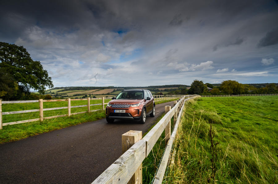 Land Rover Discovery Sport 2020 long-term review - on the road front