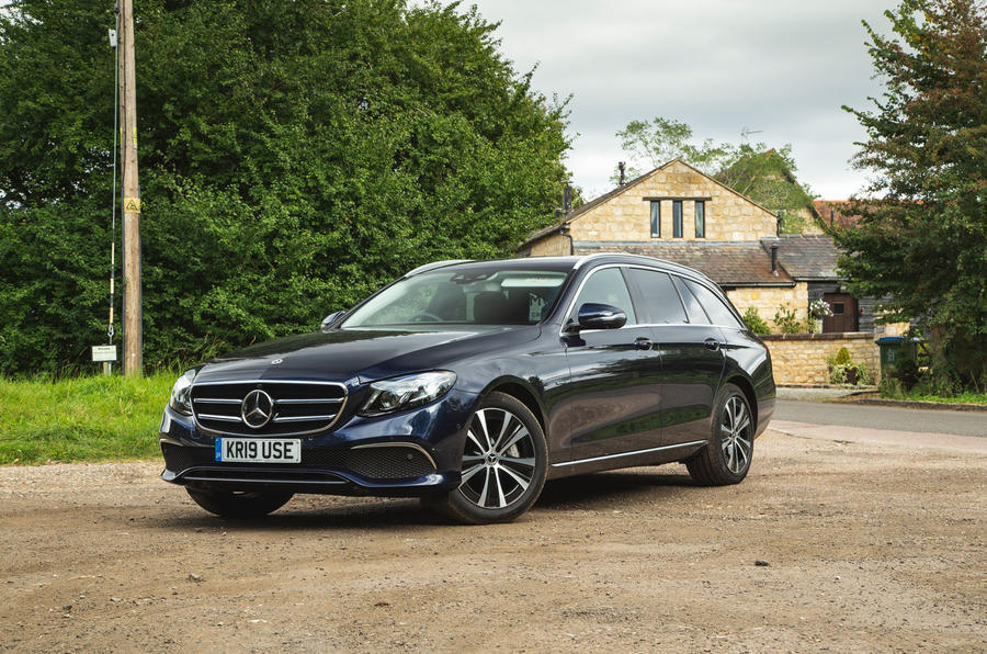 Mercedes E300de 2019 long-term review - static