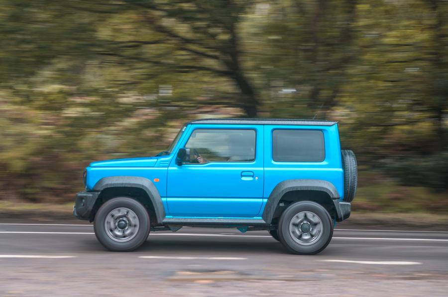 Suzuki Jimny 2019 long-term review - tracking side