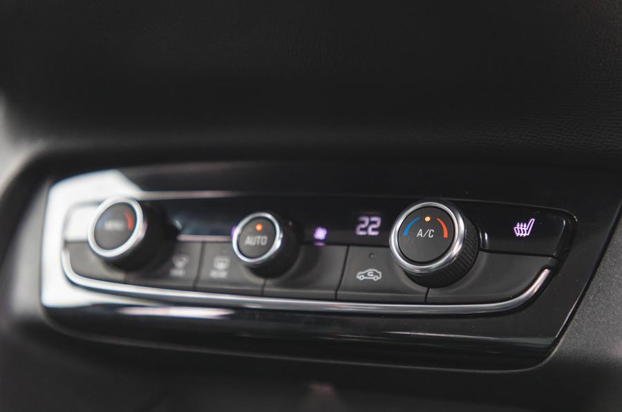 Vauxhall Corsa 2020 long-term review - climate controls