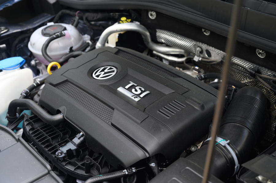 Volkswagen T-Roc R 2020 : révision à long terme - moteur