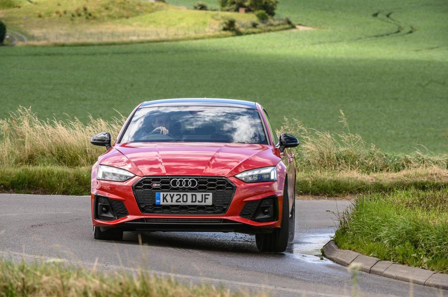 Audi S5 Sportback 2020 long-term review - corner