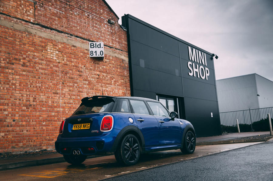 Mini 5-door Cooper S 2019 long-term review - mini factory - outside