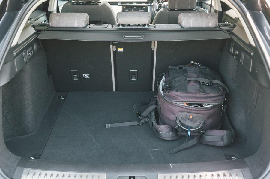 Range Rover Velar 2019 long-term review - boot