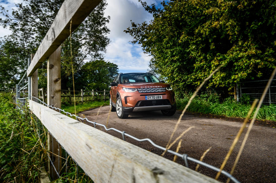 Land Rover Discovery Sport 2020 long-term review - cornering front