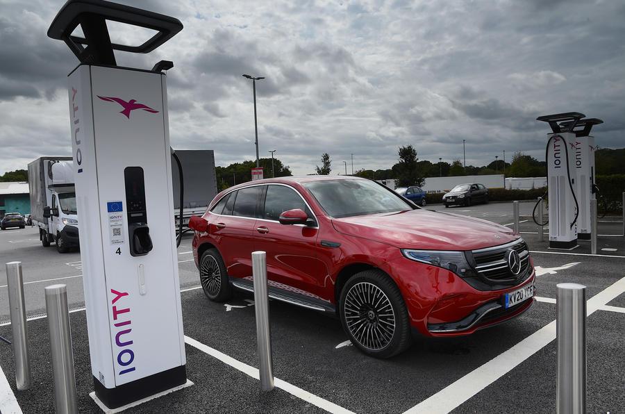 Mercedes-Benz EQC 2020 long-term review - static
