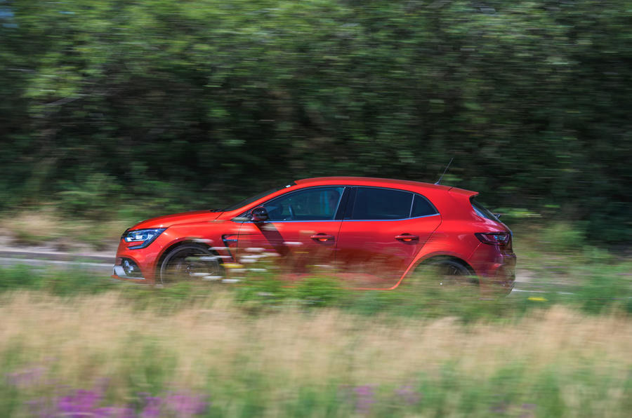 Renault Megane RS 280 2019 long-term review - on the road side