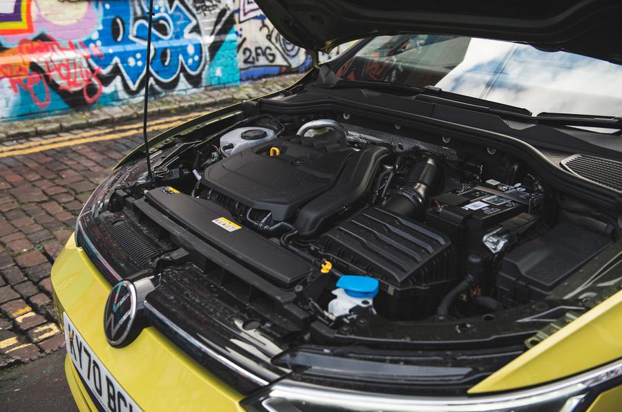 18 Volkswagen Golf 2021, moteur de révision à long terme