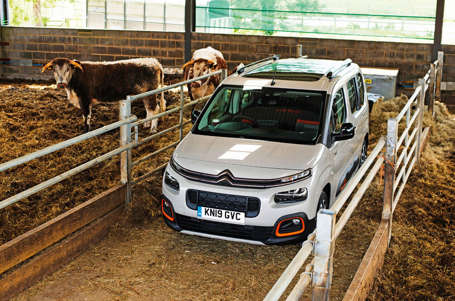 Citroen Berlingo 2019 long-term review - cowshed