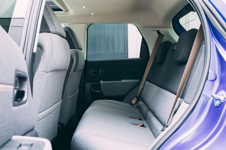 Honda e 2020 : essai longue durée - sièges arrière