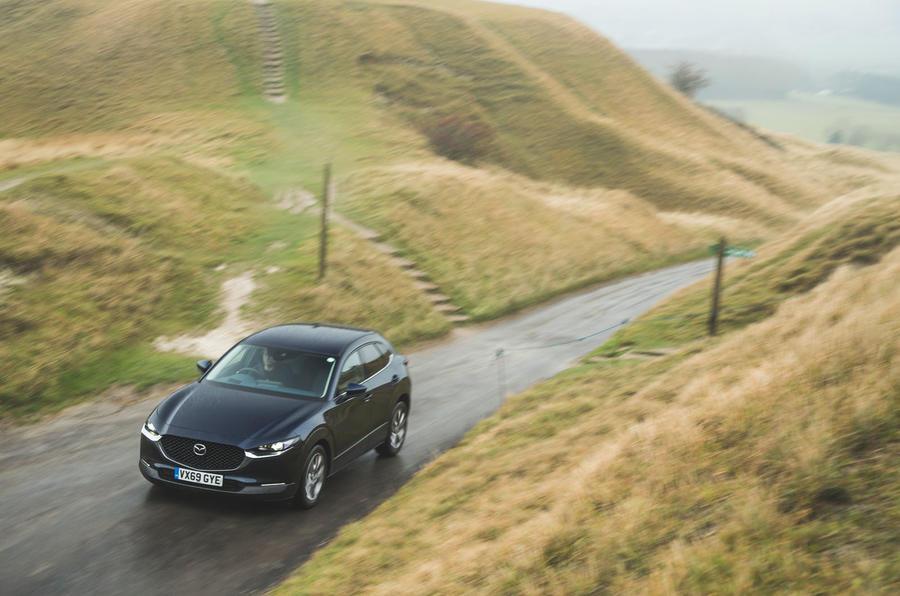 19 Mazda MX 30 2021 : examen à long terme sur la route