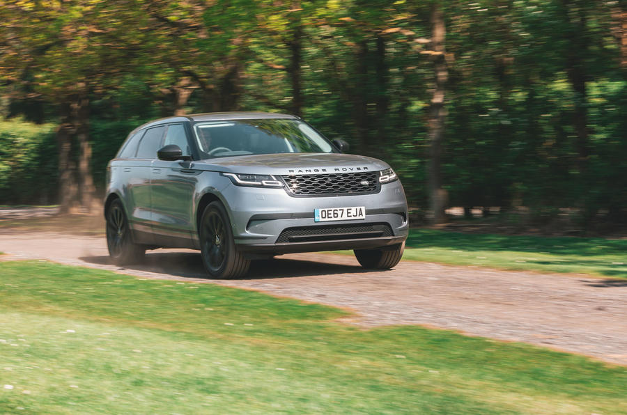 Range Rover Velar 2019 long-term review - on the road front