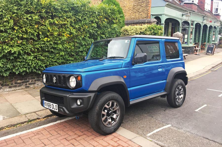 Suzuki Jimny 2019 long-term review - street parking