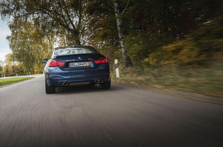 Alpina B4 S 2019 long-term review - hero rear