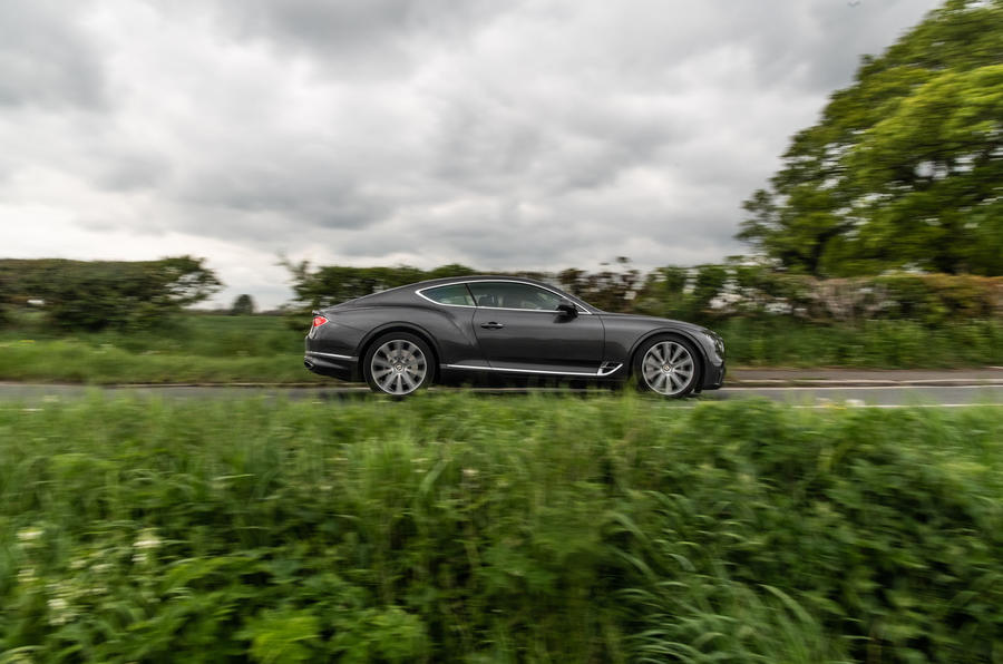 Bentley Continental GT 2019 long-term review - on the road side