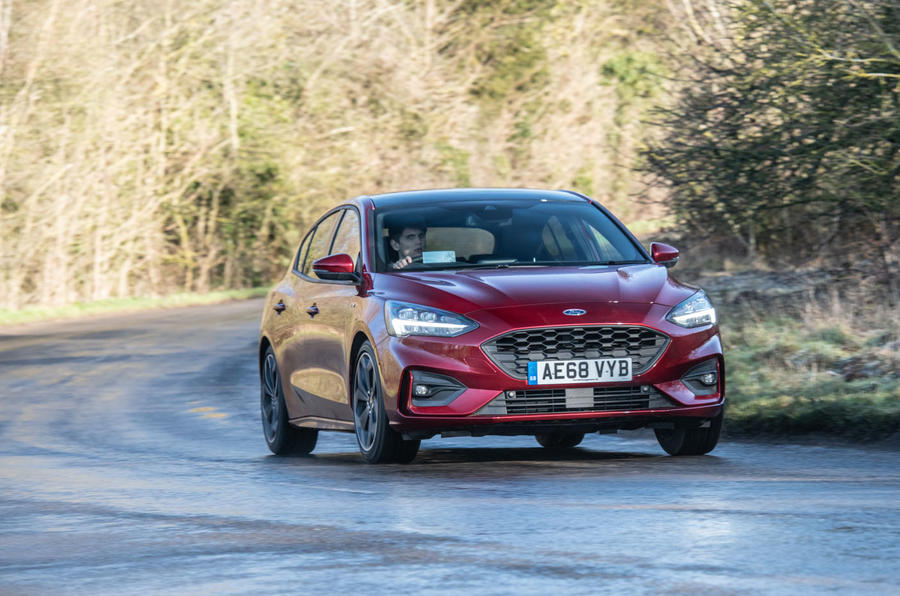 Ford Focus 2019 long-term review - on the road front
