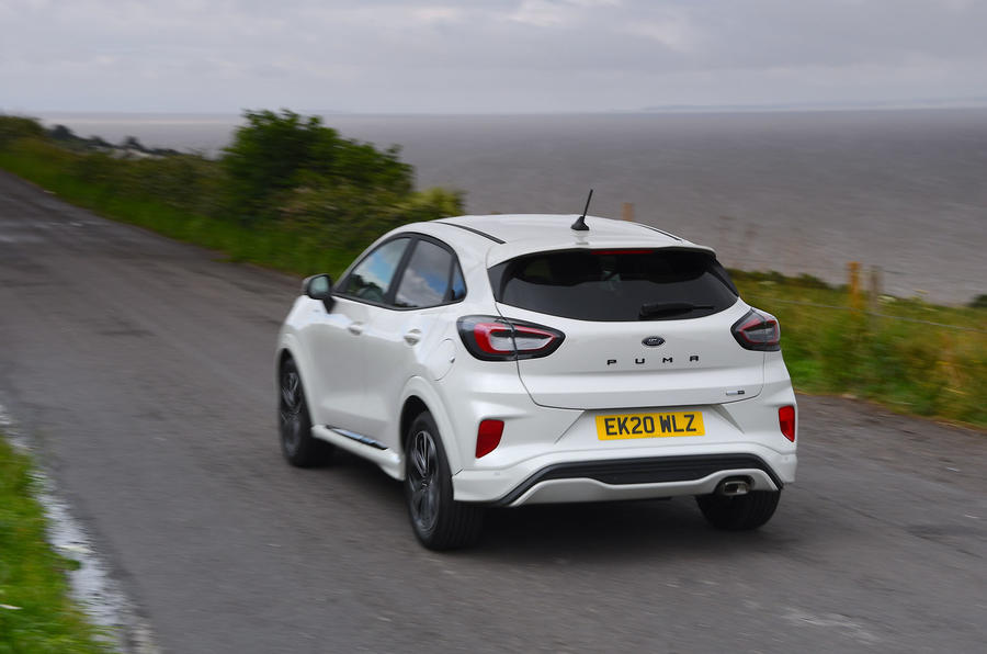 Ford Puma 2020 long-term review - hero rear