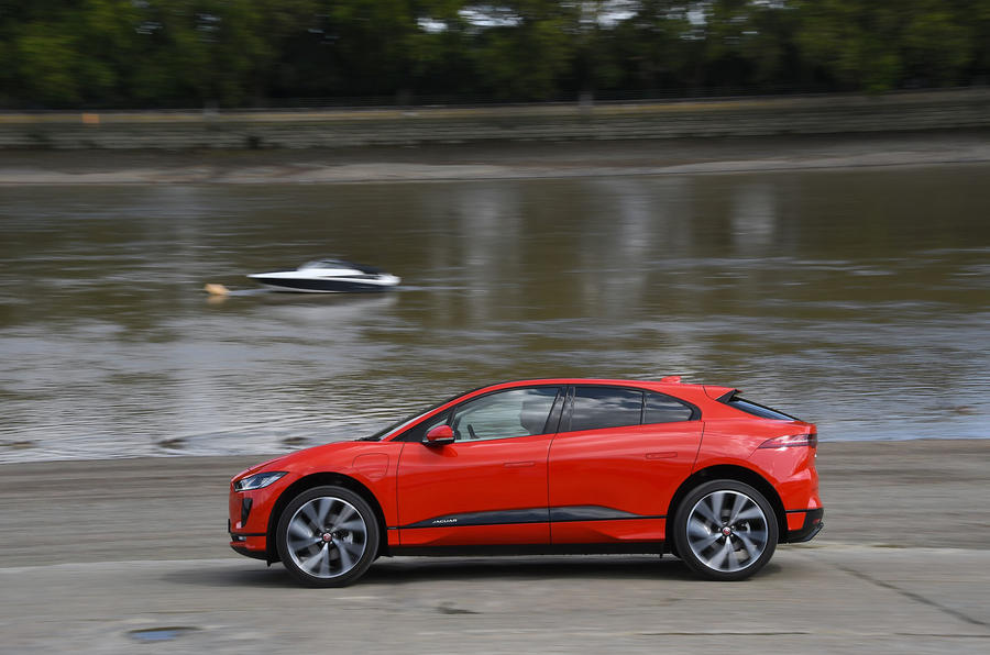 Jaguar I-Pace 2019 long-term test review - hero side