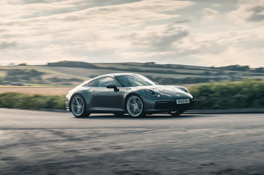 Porsche 911 Carrera 2020 long-term review - hero side