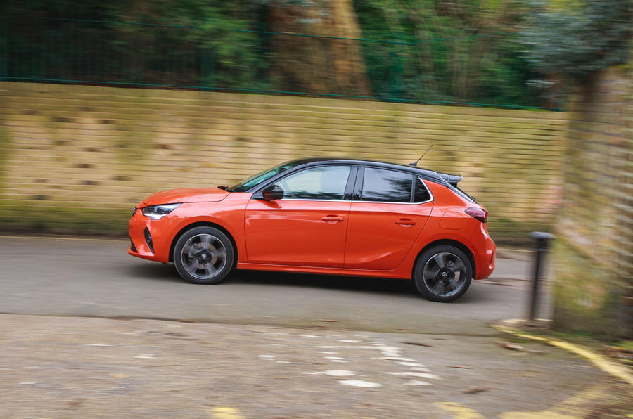 Vauxhall Corsa 2020 long-term review - hero side