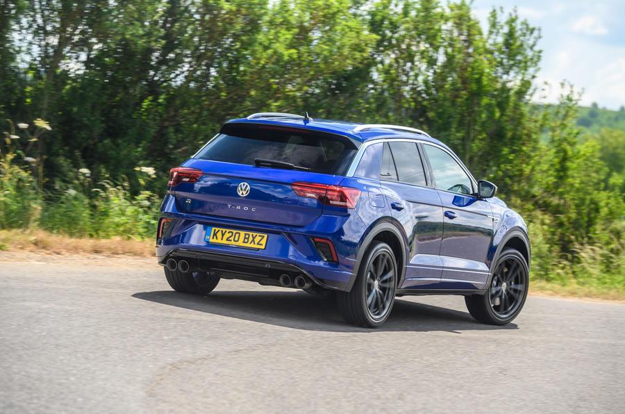 Volkswagen T-Roc R 2020 : bilan à long terme - l'arrière du héros
