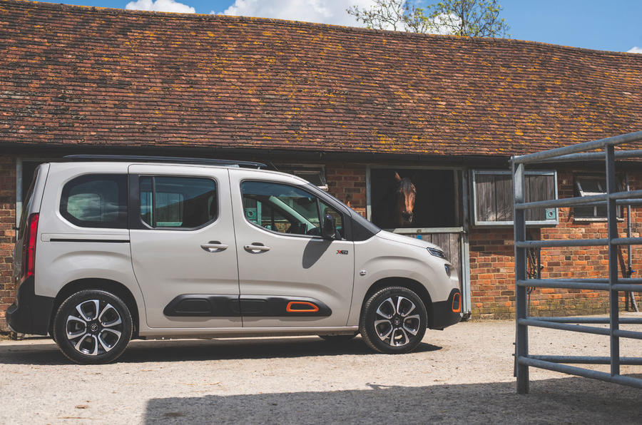 Citroen Berlingo 2019 long-term review - stables side