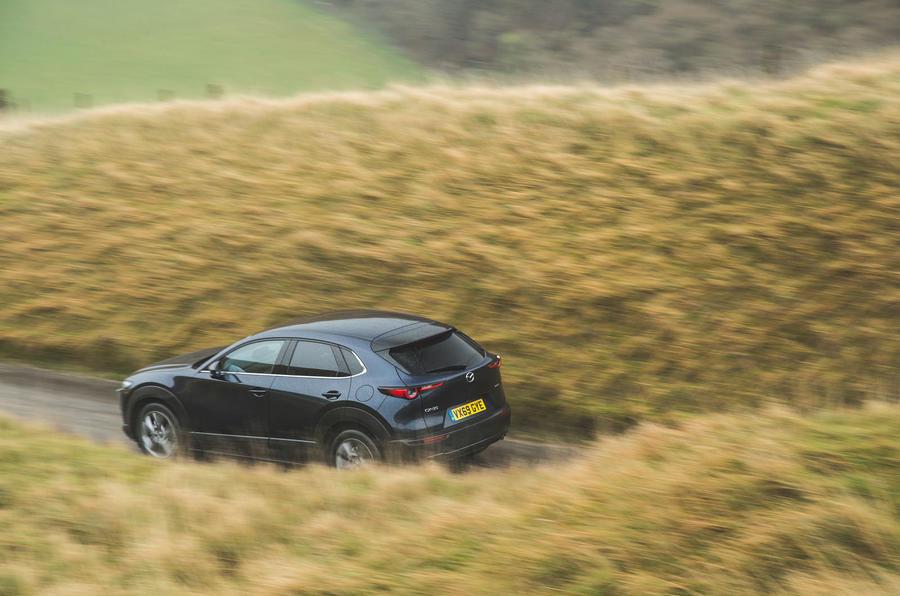 20 Mazda MX 30 2021 : examen à long terme de l'arrière de la route