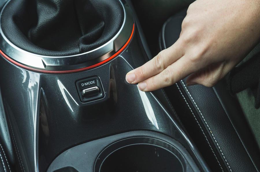 Test & Avis du Nissan Juke 2020 - mode de conduite