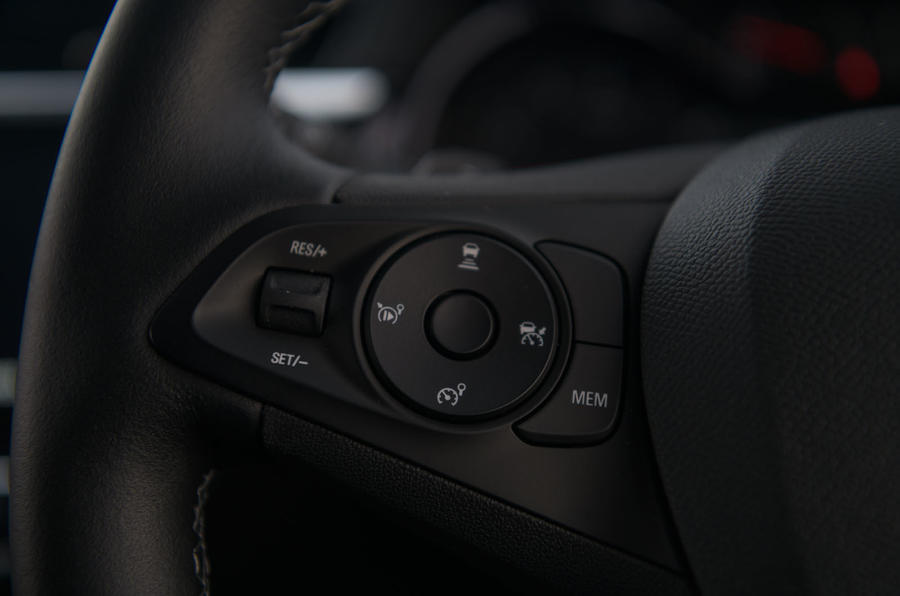Vauxhall Corsa 2020 long-term review - steering wheel controls