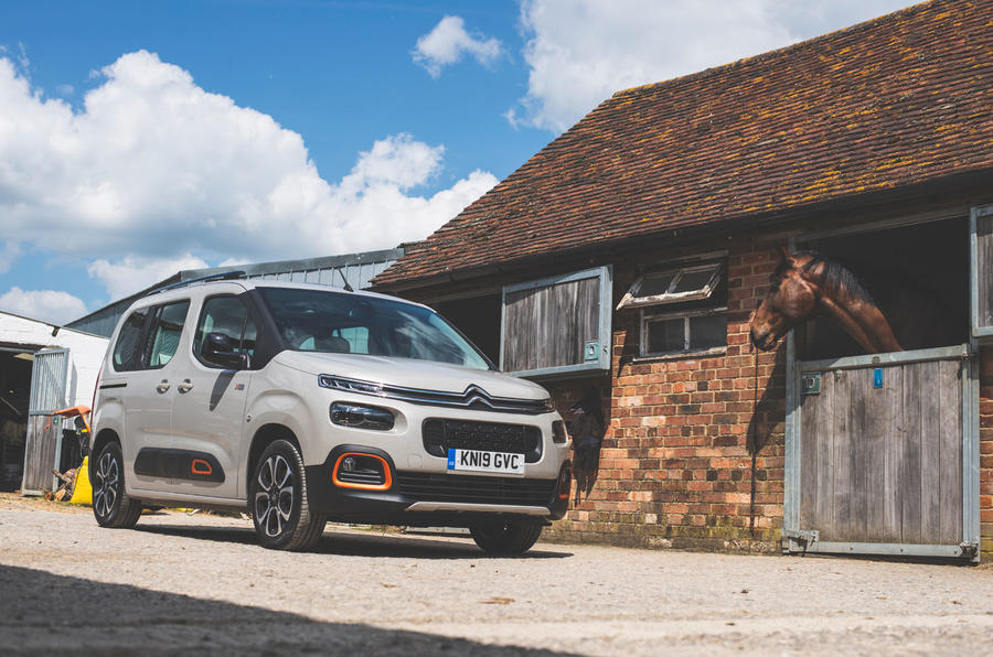 Citroen Berlingo 2019 long-term review - stables static